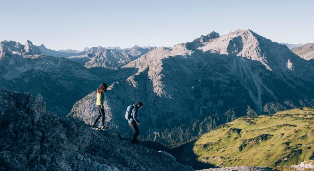 Wandern_Bergrücken_Lech_Zuers
