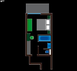 Grundriss Zimmer Wald