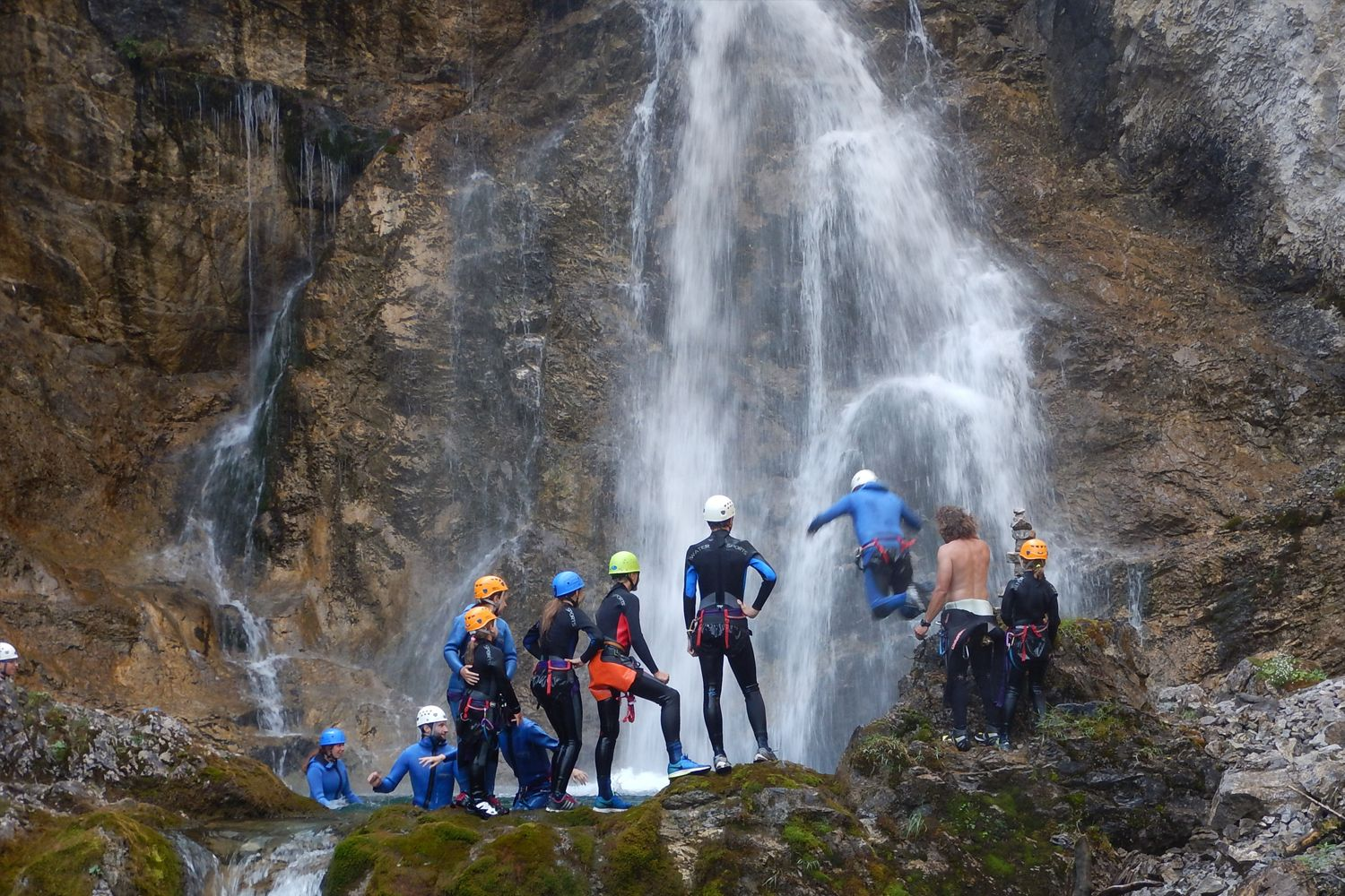 Mats_Lech_Klettern_Sommer_Sport_Aktion_Canyoning