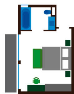 Grundriss Zimmer Quelle