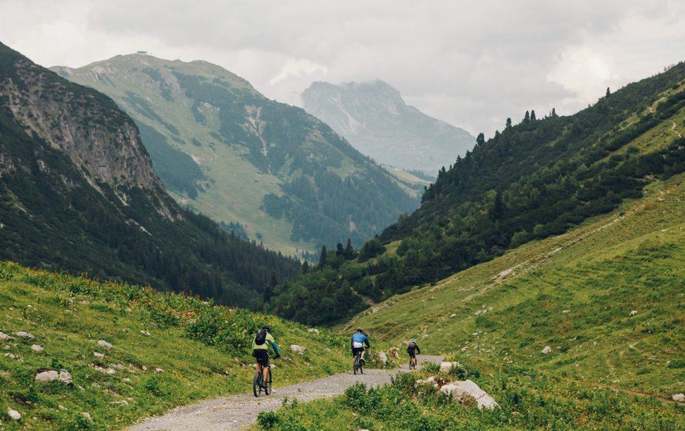 Biking Lech Zürs